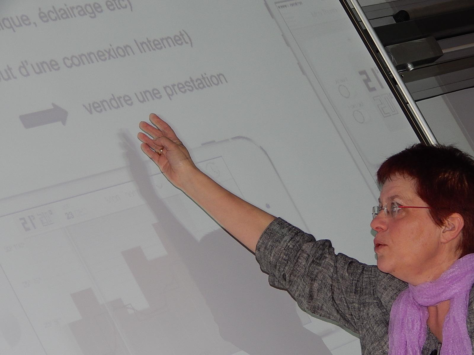 Formation technique avec Martina Kost